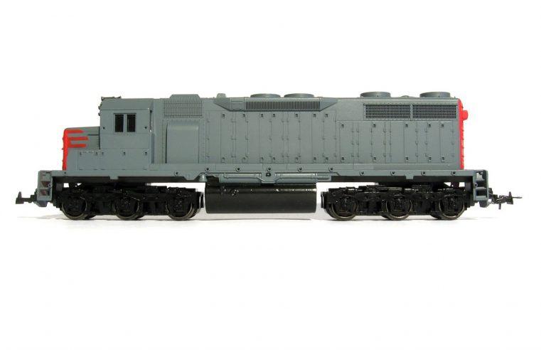 Dwie lokomotywy Eurostar
